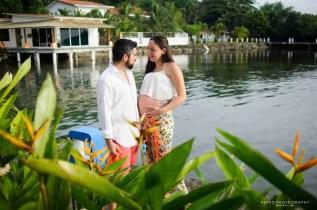 Shana y Ricardo flirting mode
