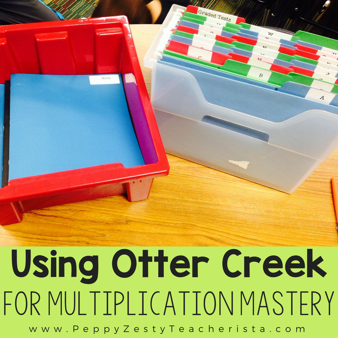 Mastering Multiplication Facts With Otter Creek Peppy