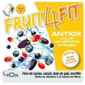 les snacks pour sportifs FRUIT4FIT à base de super aliments