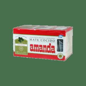 Amanda Mate Cocido 25 Tea bags