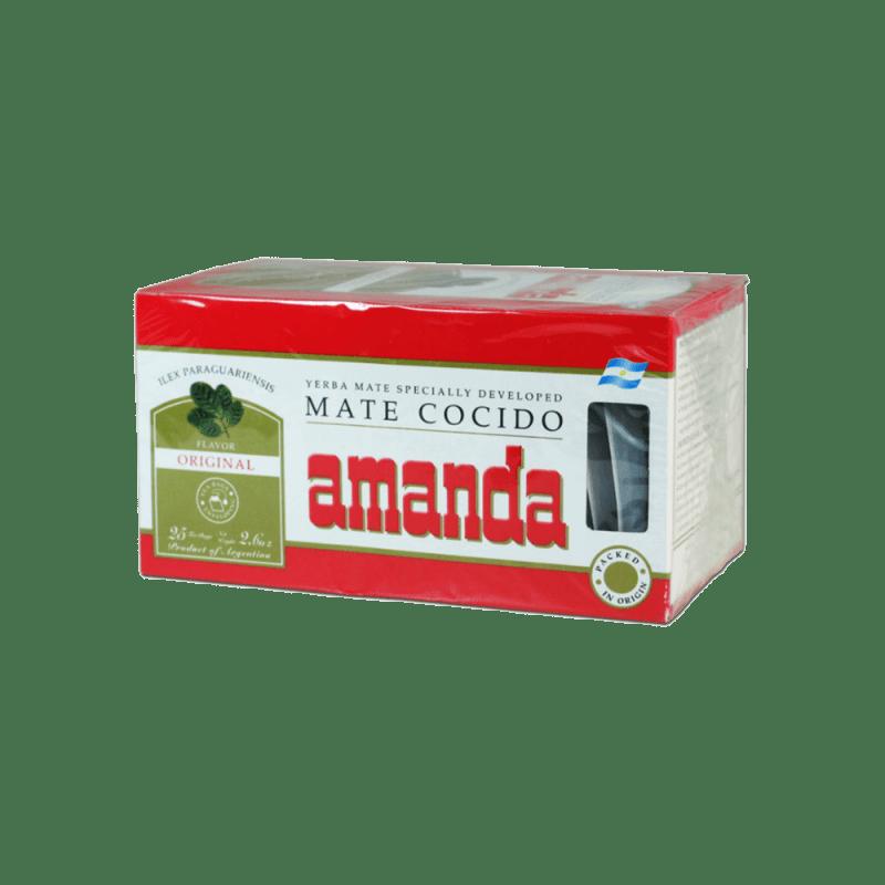 Amanda Mate Cocido 25 Theezakjes