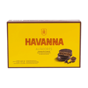 Alfajores Chocolate Clásico Havanna 12 units