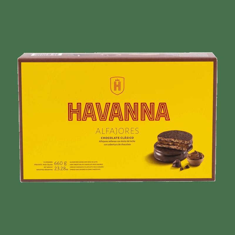 Alfajores Chocolate Clásico Havanna 12 unités