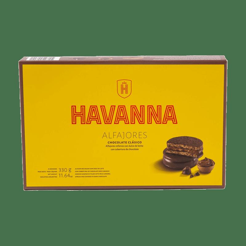 Alfajores Chocolate Clásico Havanna 6 units