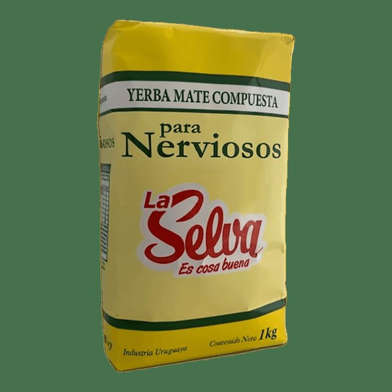 La Selva para Nerviosos Yerba Mate 1 kg