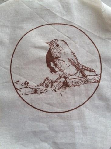 pájaro circulo grande