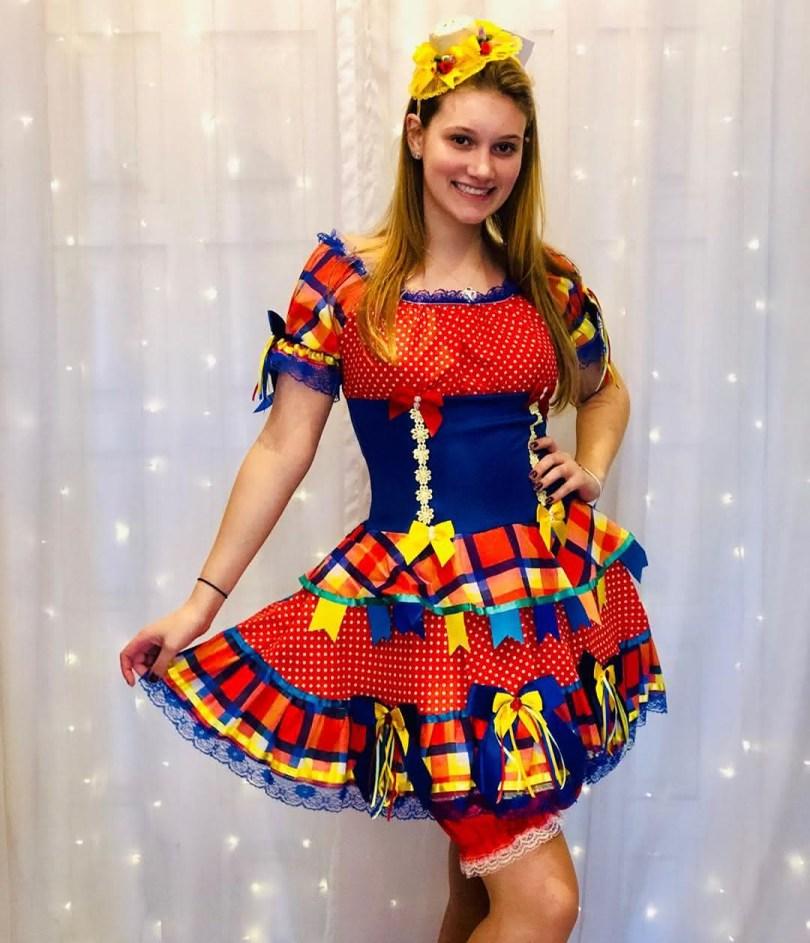 Vestido de Quadrilha 2021