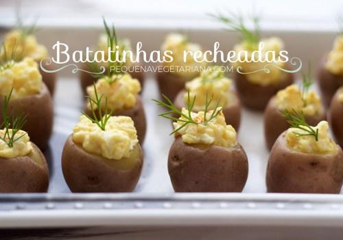 Receita de Batatinhas recheadas