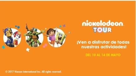 Nickelodeon Tour en el Centro Comercial La Gavia