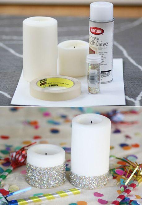velas glitter
