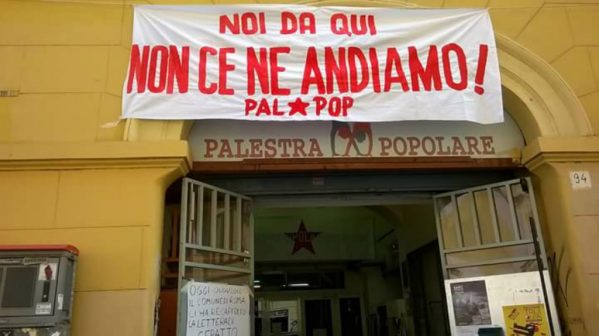 ingresso palestra popolare san lorenzo
