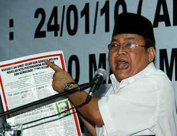 Lawan Perkasa Anwar bukan Nurul Izzah, kata Ibrahim Ali
