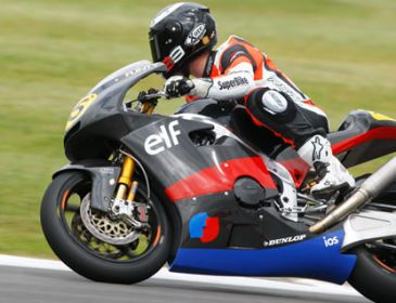Keith Flint and MotoGP suppliers FTR Moto gave us a spin at Silverstone!