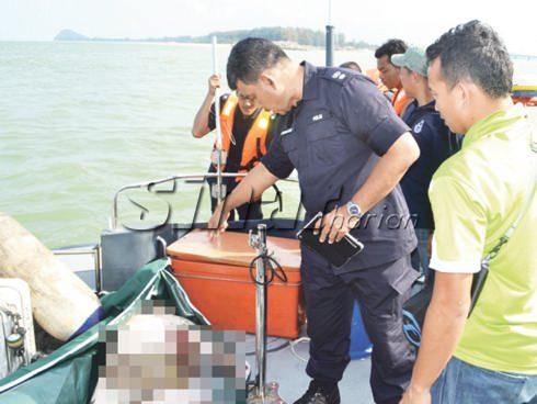 Mayat disangka milik nelayan