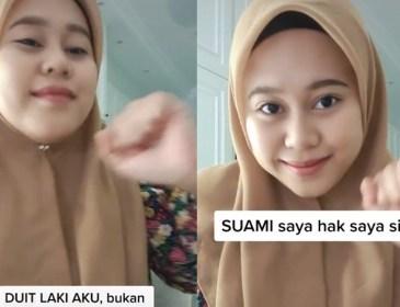 Buat Video TikTok Backup Suami, Netizen Bengang Dengan Isteri Shuk