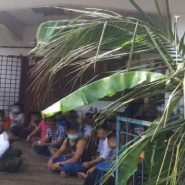 21 Warga Myanmar 'Berpesta Air' Ditahan Polis