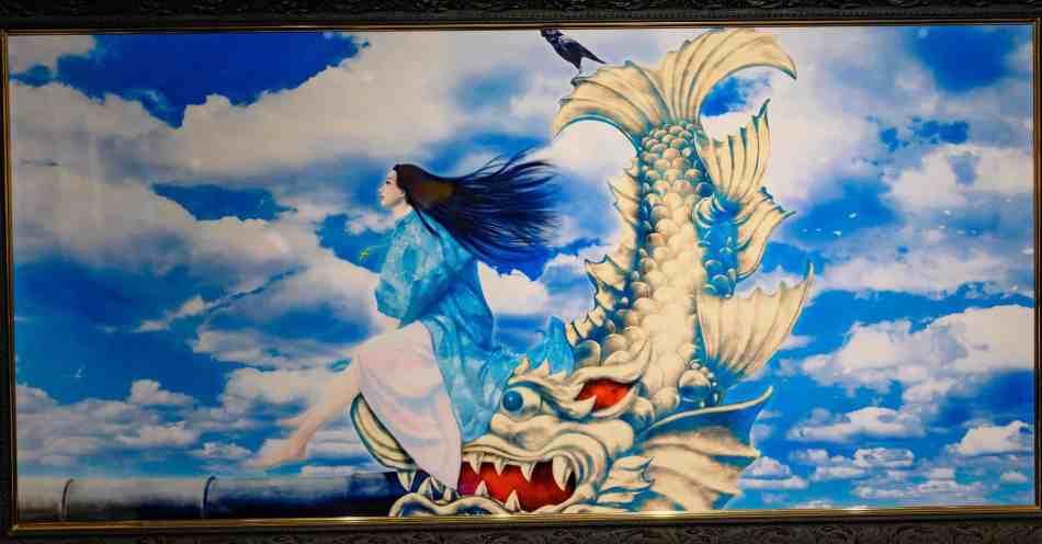 Illustration of Maeda Gou (Minami no Onkata) by Kimiya Masago