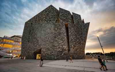 Kadokawa Musashino Museum – The Rock Floating On Water