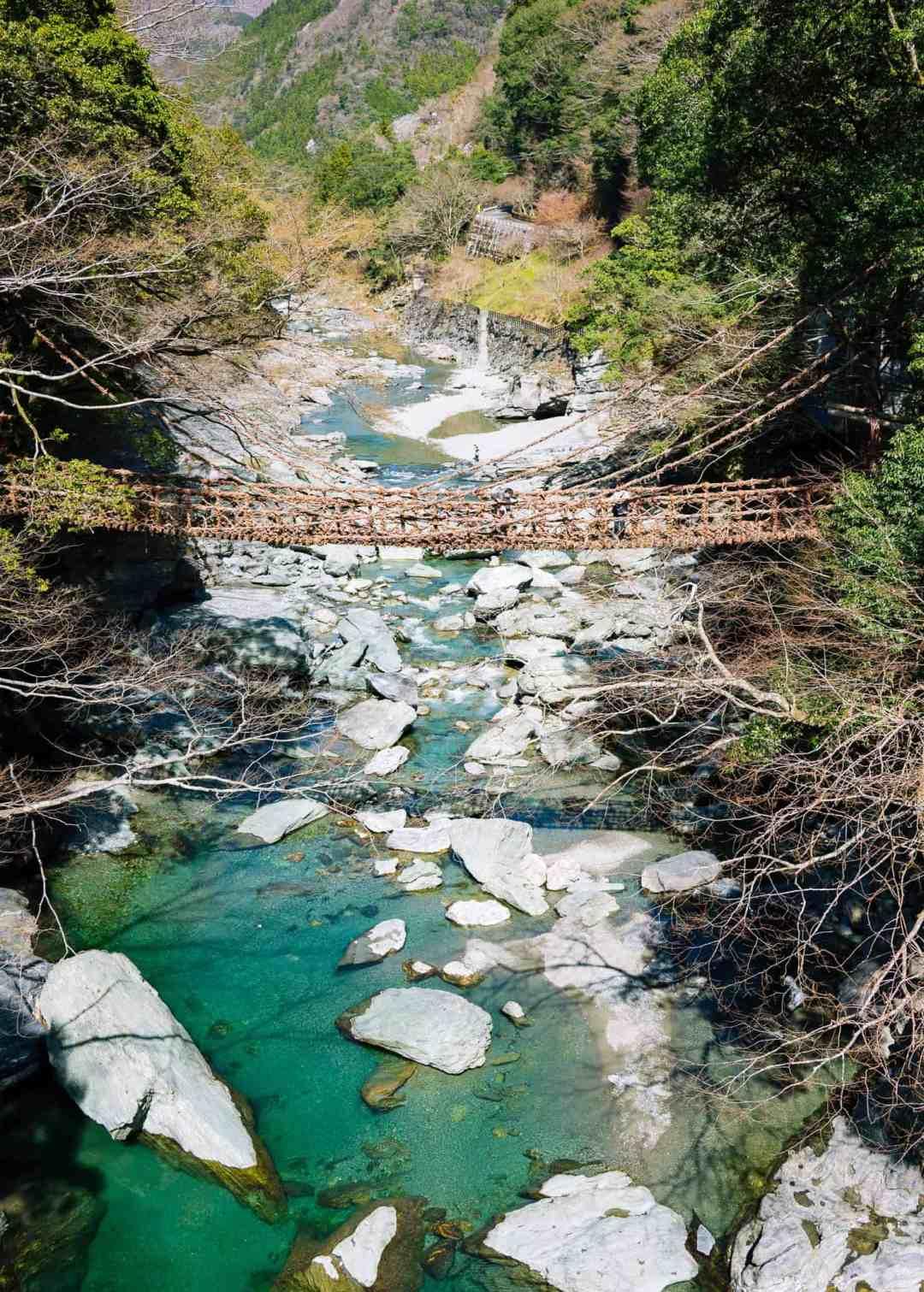 Kazurabashi bridge over the Iya valley