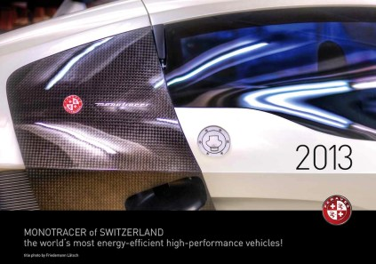 2013 MonoTracer of Switzerland Calendar - Cover