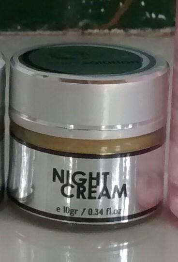 Perawatan Kulit Wajah Night Cream Small Skin Solution