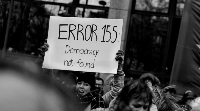 Danmark: Sidste måned med demokrati