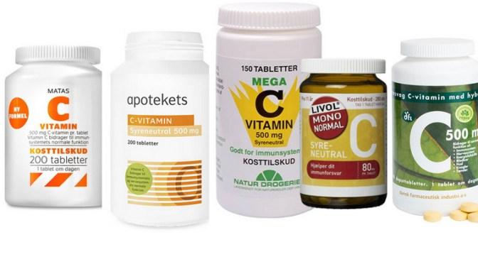 C-vitamin mod coronavirus?