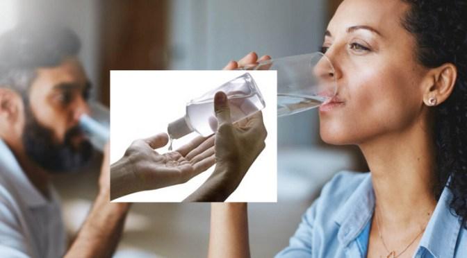 Corona-brevkassen: Nej, håndsprit virker ikke, hvis du drikker det