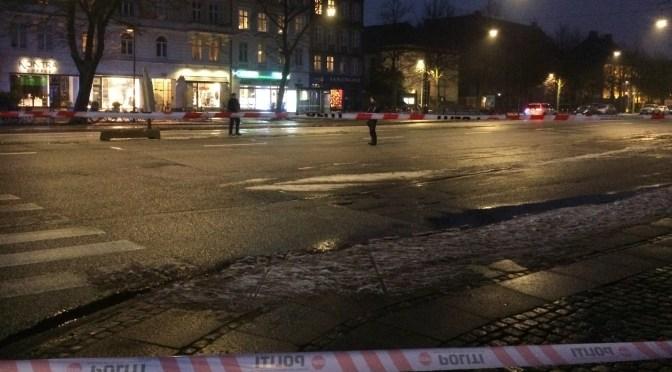Terrortrussel på Østerbro i går