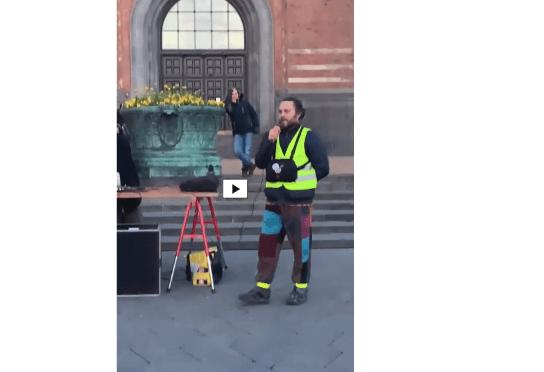 Ny video: Tale på Rådhuspladsen