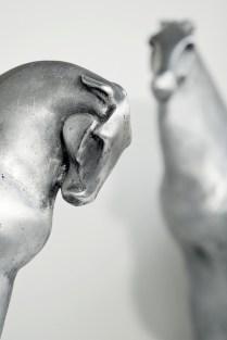 Zaljubljeni konji, 2005., aluminij