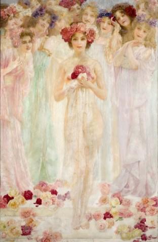 Robert Auer, Kraljica ruža, 1902.