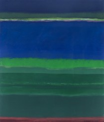 Zeleni i plavi krajolik, 2012.
