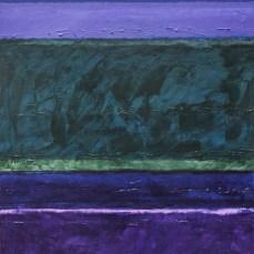 Ljubičasti, zeleni i plavi krajolik, 2012.
