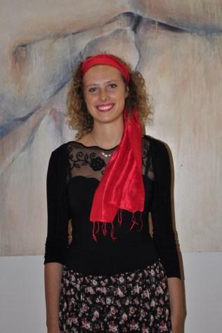 Umjetnica Natalija Borčić (foto: Emil Fuš)