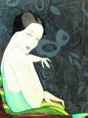 Dama u fotelji, 1928.
