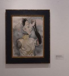 Enigmatska kompozicija (Torzo s maskom i crnom rukom), 1932.