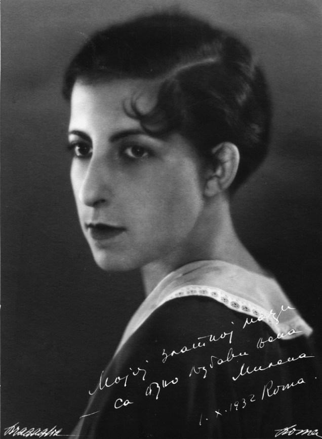 Milena, Rim, 1932.