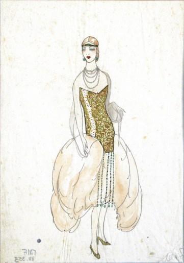 Model haljine, 1926.