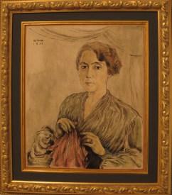 Portret majke, 1934.
