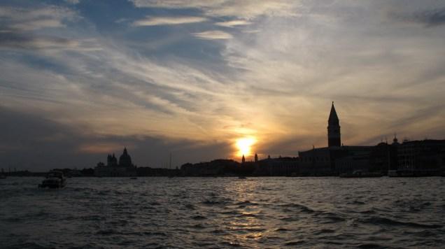 Panorama - zalazak sunca