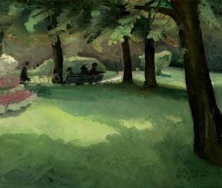 Luksemburški park, 1912.