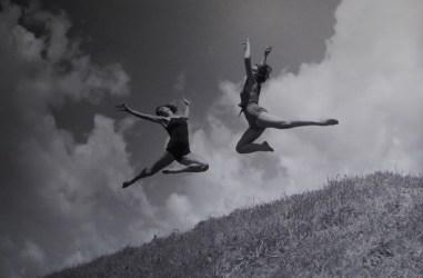 Mercedes Goritz Pavelić i Ljubica Valentaković, 1934.