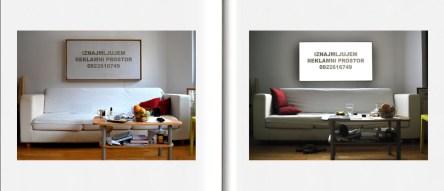 Iznajmljujem reklamni prostor, 2011.