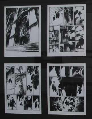 Scene iz grafičke novele Babilon