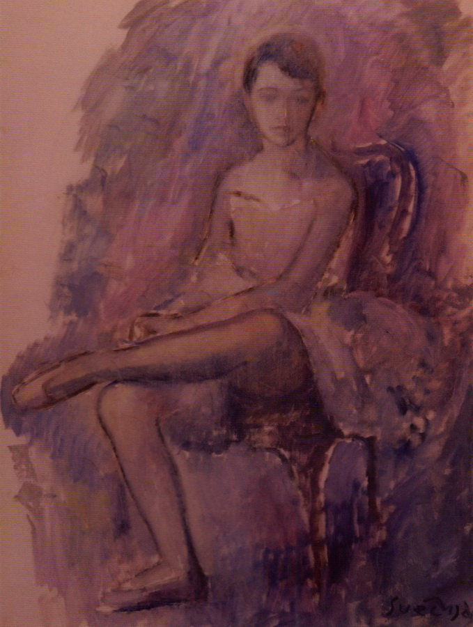 Balerina, 1950.