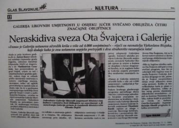 Neraskidiva sveza Ota Švajcera i Galerije, 1999.