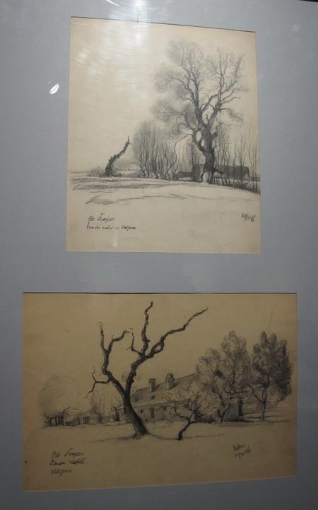 Žido pustara, Samotni puteljak / Osušeno stablo, Valpovo, 1946.