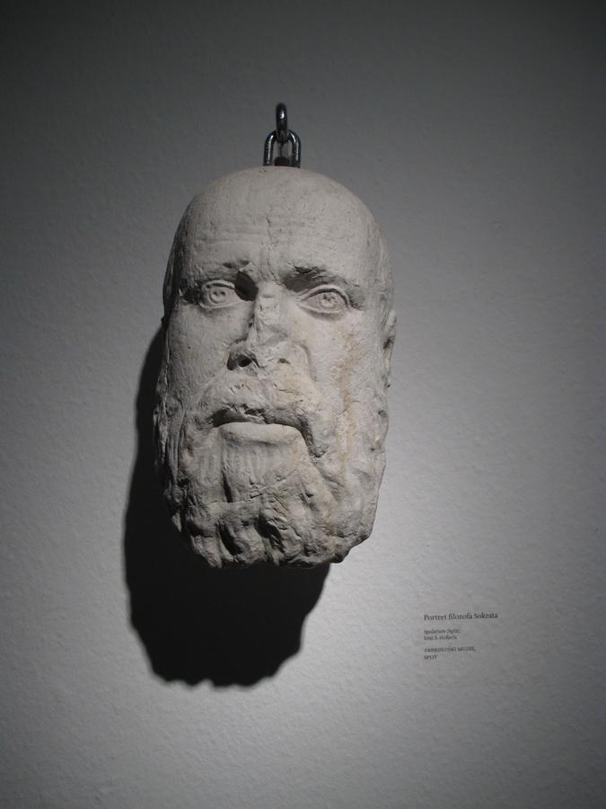 Portret filozofa Sokrata, Split, kraj 3.st.