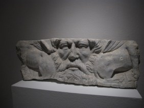mak sarkofaga s likom boga Oceana, Salona, sred.2.st.